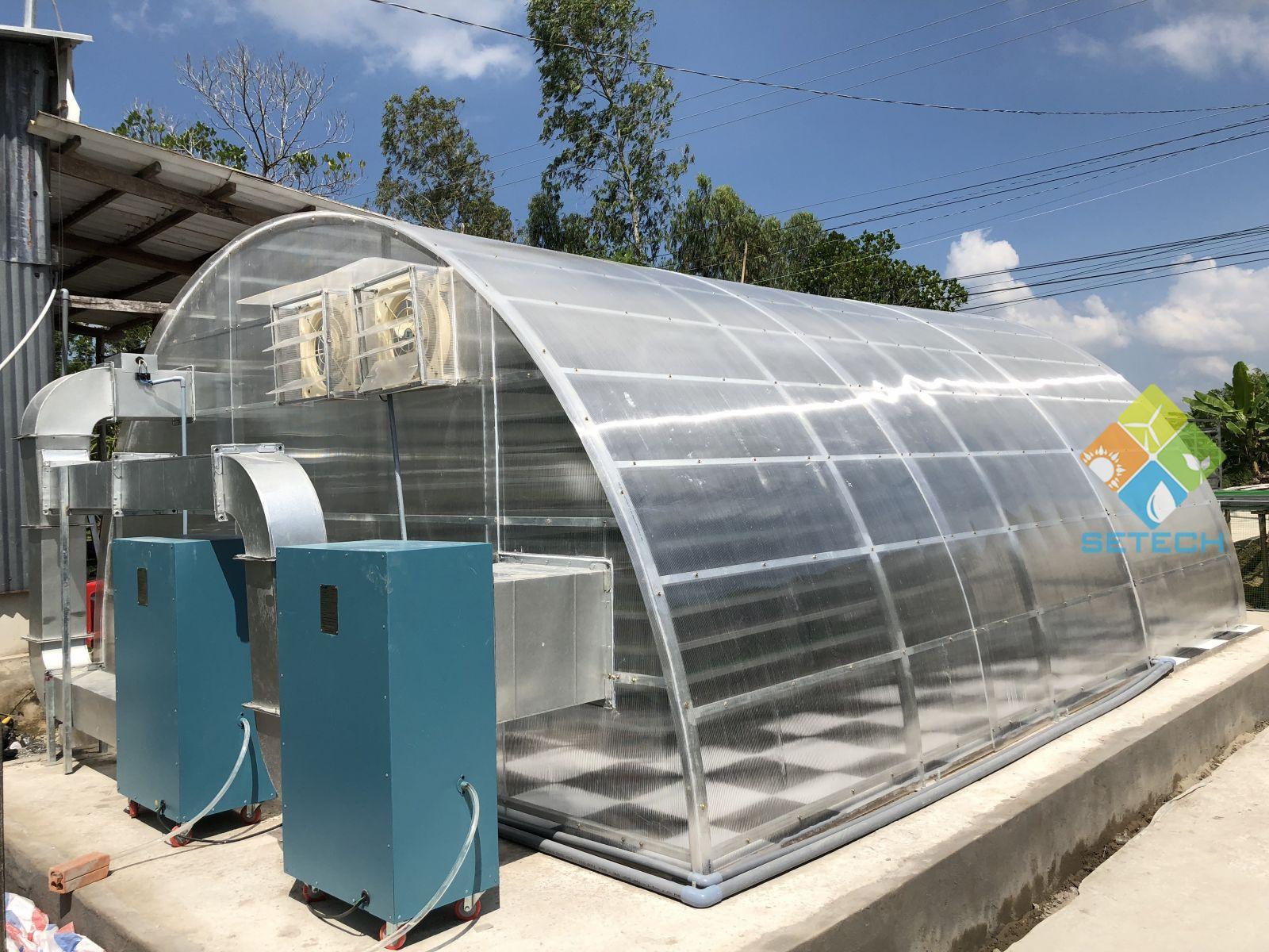Máy sấy cá bổi bằng năng lượng Mặt Trời - Công ty Cổ phần Công nghệ Năng lượng bền vững Việt Nam SETECH