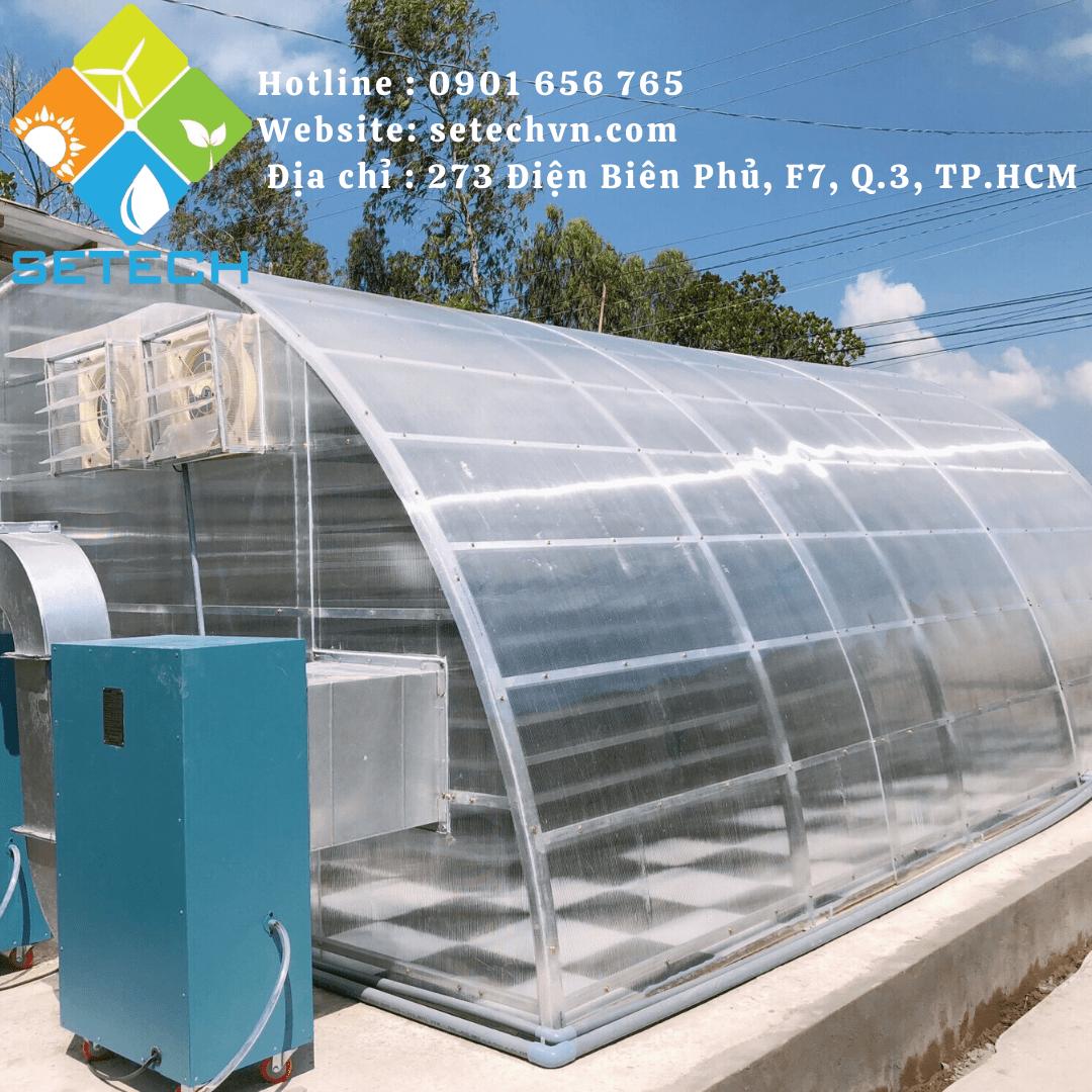 Máy sấy năng lượng mặt trời – Quy mô vừa