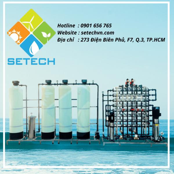 Máy lọc nước mặn thành nước ngọt của SETECH