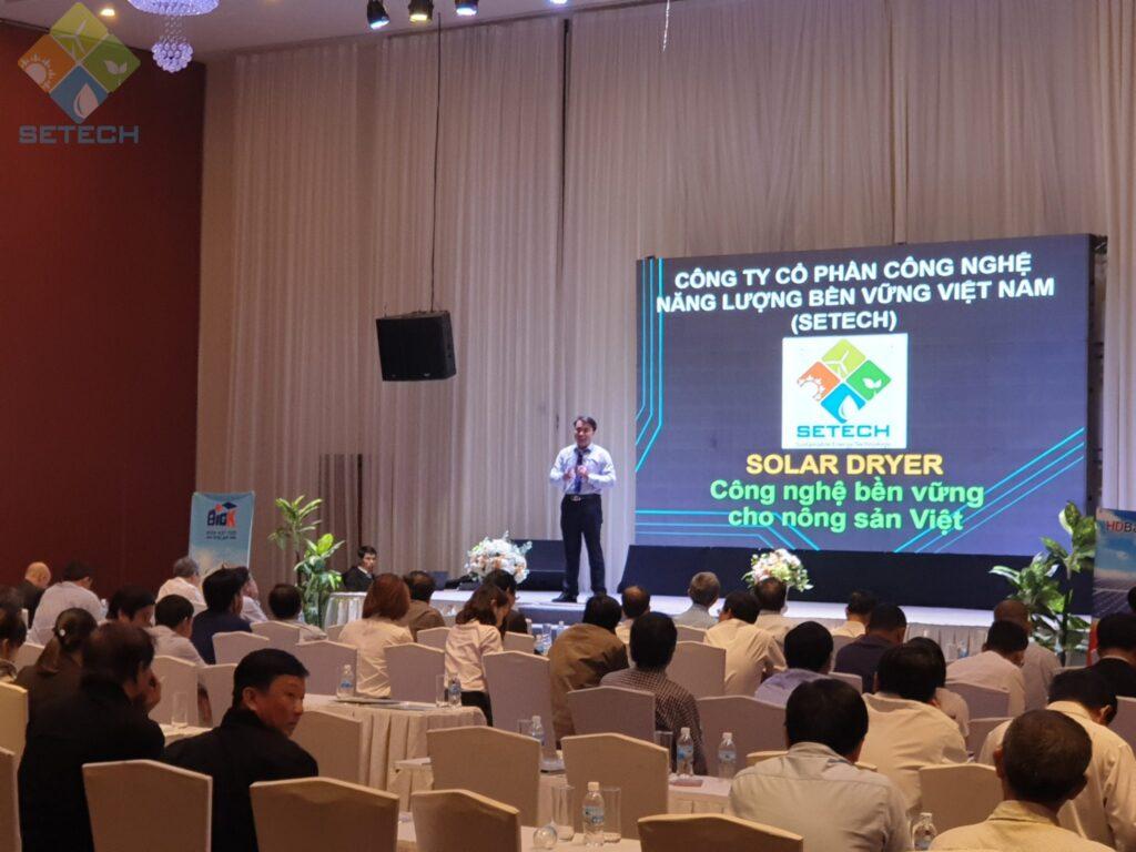 Hội thảo chia sẽ công nghệ sấy năng lượng mặt trời tại Phú Yên
