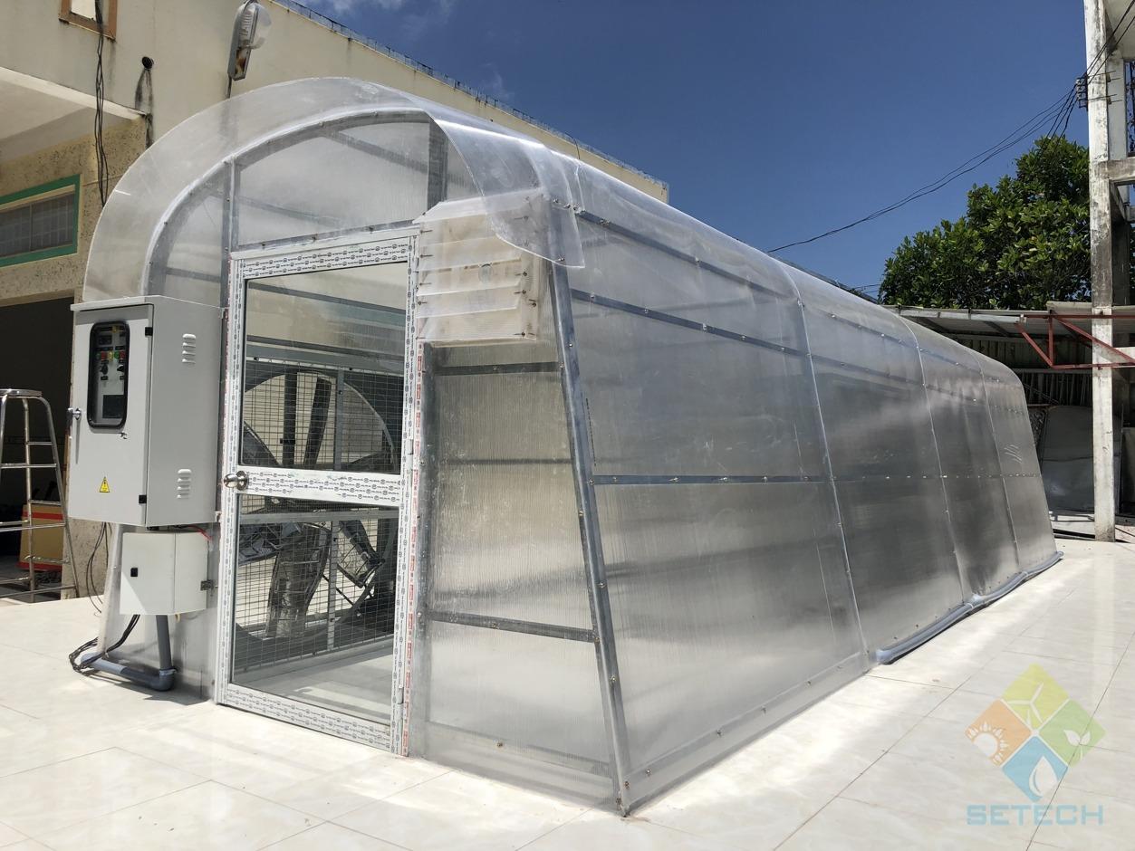 Máy sấy năng lượng mặt trời SETECH.