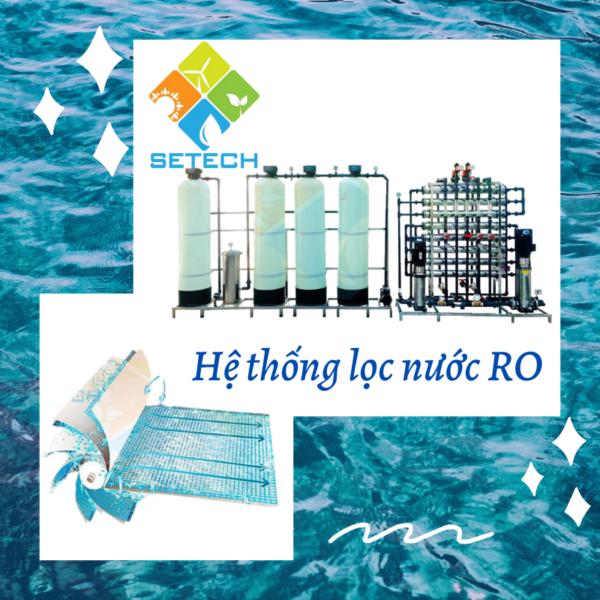 Màn lọc RO của máy lọc nược mặn thành nước ngọt công nghiệp