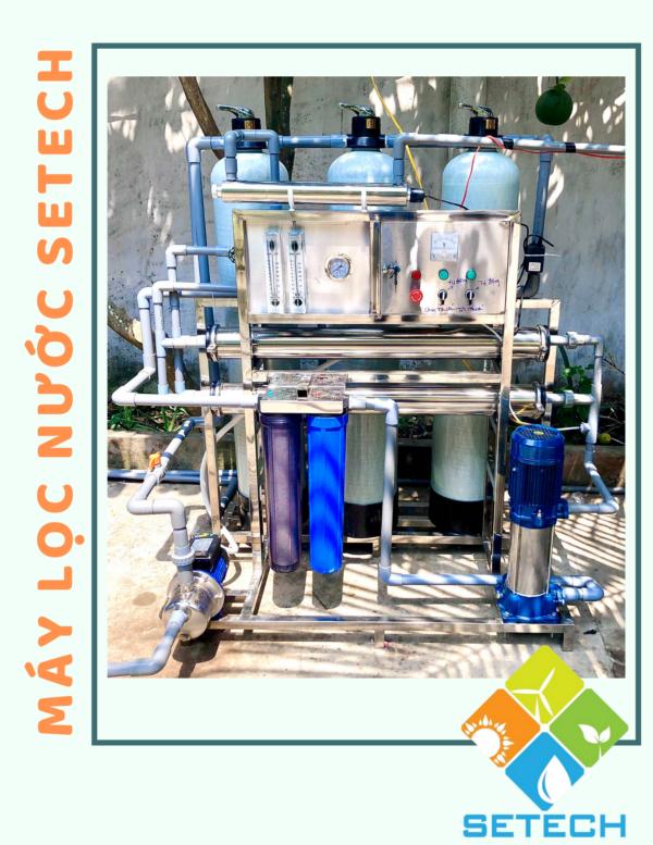 Nguyên lý hoạt động của máy lọc nước mặn thành nước ngọt công nghệ RO-SETECH-