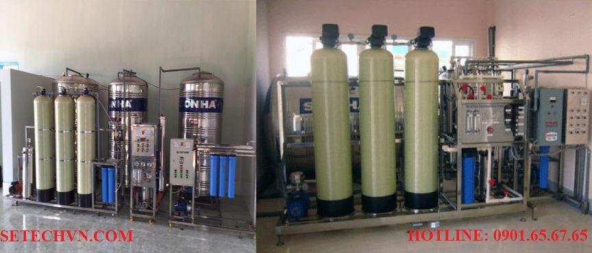 Máy lọc nước công nghiệp với công nghệ lõi lọc RO