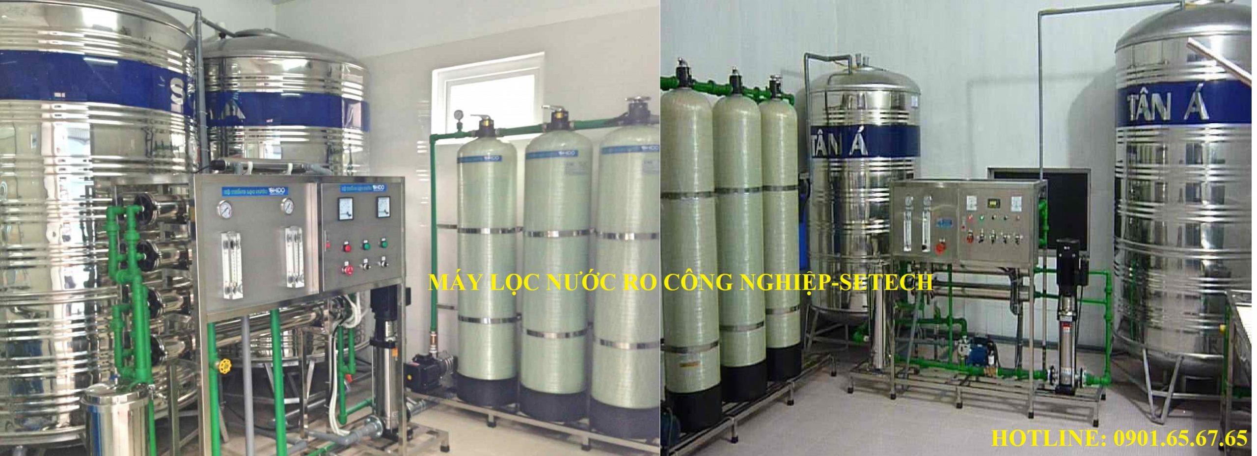 Máy lọc nước RO công nghiệp