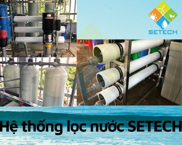 Hệ thống máy lọc nước mặn thành nước ngọt STECH tại Cà Mau