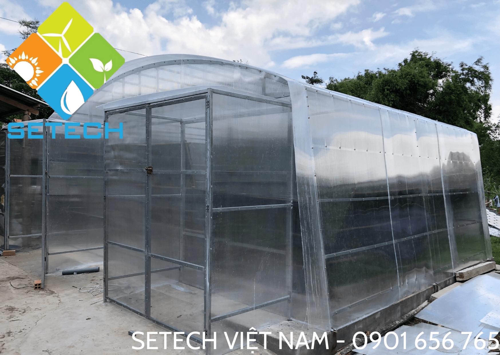 Máy sấy năng lượng mặt trời của SETECH