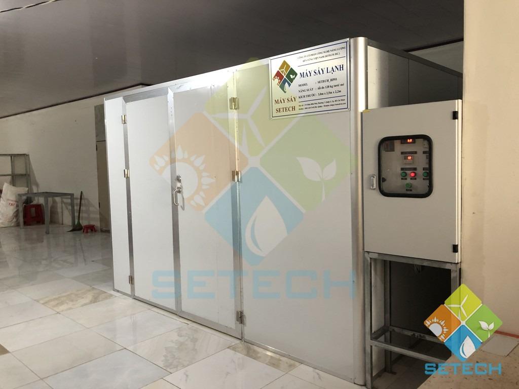 Máy sấy lạnh tại cơ sở Cẩm Thiều