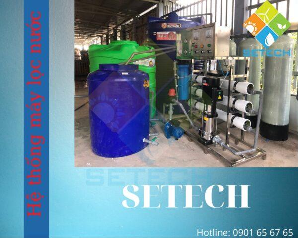 SETECH là lựa chọn đáng tin cậy cho người dân có nhu cầu lắp máy lọc nước công nghiệp RO