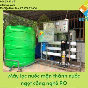 Hãy lựa chọn SETECH nếu có nhu cầu mua máy lọc nước tinh khiết RO