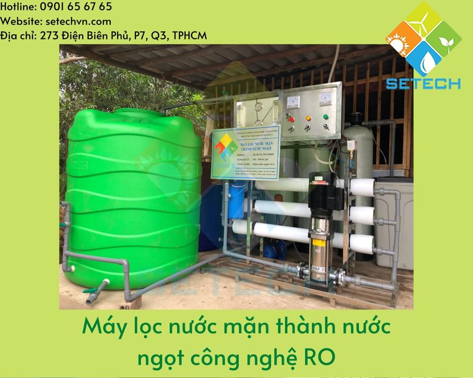 Máy lọc nước mặn 500lit/h