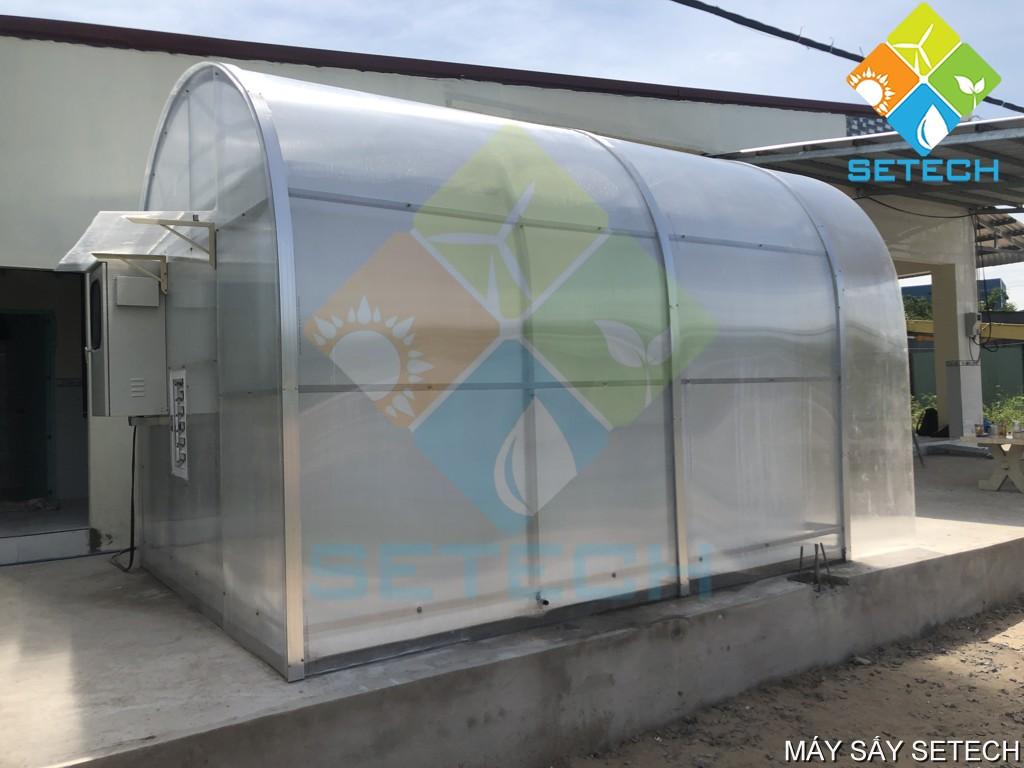 Máy sấy năng lượng mặt trời SETECH tại An Giang