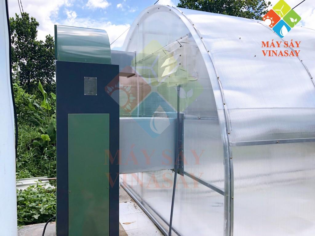 Bộ trợ nhiệt của máy sấy năng lượng mặt trời SETECH